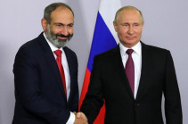 Nikol Pashinyan holds phone conversation with Vladimir Putin