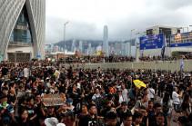 Հոնգկոնգում հինգ մարդ է ձերբակալվել բողոքի ակցիաների ժամանակ