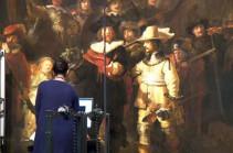 Началась реставрация «Ночного Дозора» Рембрандта (Видео)