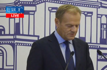 Armenia's positive dynamics creates new opportunities for cooperation: Tusk