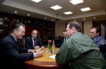 Глава штаба Сил специальных операций НАТО провел встречи в Минобороны Армении