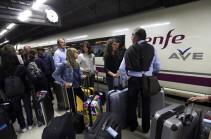 В Испании рейсы 320 поездов отменили из-за забастовки