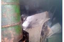 Չարենցավան քաղաքի Մելտոնյան փողոցում գործող կահույքի արտադրամասում հրդեհ է բռնկվել