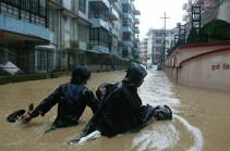 Число жертв наводнений и оползней в Непале возросло до 78 человек