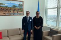 Տիգրան Ավինյանը ՄԱԿ-ի Գլխավոր քարտուղարի տեղակալին առաջարկել է Թուրքիայի կողմից Հայաստանի սահմանը փակ պահելու հարցի կարգավորման նպատակով գործնական քայլեր ձեռնարկել