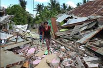 Число погибших при землетрясении в Индонезии выросло до шести человек