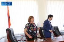 Нахшун Таварацян представила заявление об отставке