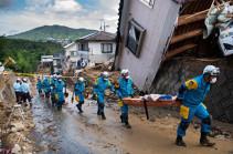 Ճապոնիայում տեղատարափ անձրևների հետևանքով երկու կին է տուժել