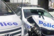 Австралийский водитель протаранил полицейский участок фургоном с 270 кг наркотиков