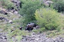Հայտնի է Արցախում վթարի հետևանքով 5 զոհերի ինքնությունը. նախնական վարկածով՝ վարորդը քնել է ղեկին
