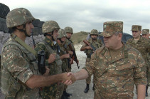 Head of Chief Staff of Armenian Armed Forces visits frontline military units