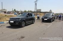Երևան-Սևան ճանապարհին պայթյունից հետո մի քաղաքացի վնասված մեքենայով փորձել է հեռանալ դեպքի վայրից. նրան հայտնաբերել են