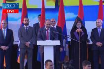 2018 թվականի գարնանն Արցախը կանգնեց Հայաստանի և հեղափոխության թիկունքին. Նիկոլ Փաշինյան