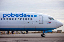 Misunderstanding between Pobeda airline and Gyumri airport settled, company to continue implementing flights