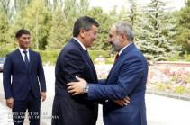 «Բոլոր ղրղզստանցիները ճանաչում են ձեզ». Հանդիպել են Հայաստանի վարչապետն ու Ղրղզստանի նախագահը