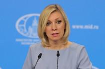 Ղարաբաղի վերջնական կարգավիճակը պետք է որոշվի Հայաստանի և Ադրբեջանի միջև բանակցությունների միջոցով. Զախարովա