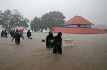 Հնդկաստանում ամպրոպների և հեղեղումների զոհերի թիվը գերազանցում է 170-ը
