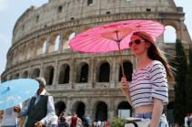 Իտալիայում տապի պատճառով վտանգի ամենաբարձր մակարդակն են հայտարարել 11 քաղաքներում