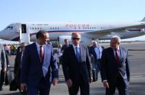Հայաստան է ժամանել ՌԴ Անվտանգության խորհրդի քարտուղար Նիկոլայ Պատրուշևը
