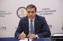 Представители МККК пока не посетил оказавшегося на территории Азербайджана Араика Казаряна – омбудсмен Армении на связи с семьей военнослужащего