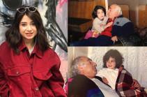 Սիրեք ու պաչիկներ արեք ձեր պապիկներին. Արուս Տիգրանյանը շնորհավորել է Ազատ Գասպարյանի ծննդյան տարեդարձը (Լուսանկարներ)