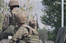 От пули с азербайджанской стороны в Армении ранен солдат