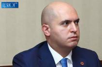 ՀՔԾ-ն քիչ առաջ ձերբակալել է իմ վարորդ, իմ օգնական, իմ ընկեր Արամ Բարսեղյանին. Արմեն Աշոտյան