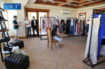 Fashion and Art exhibition opens in Yerevan with participation of renowned designers (photos)