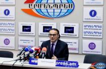 Ex-advisor to PM Arsen Gasparyan says his resignation is his own decision