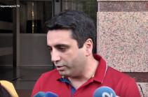 Если мы увидим, что Армении, Севану, Джермуку может быть причинен 0.1% вред, месторождение не будет эксплуатироваться – Ален Симонян
