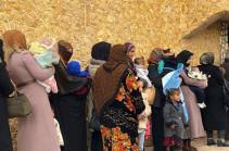 В Сирию за сутки вернулись более тысячи беженцев