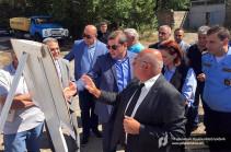 ՊԵԿ նախագահի գլխավորած աշխատանքային խումբն այցելել է Գյումրի