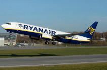 Ryanair-ը չվերթներ կիրականացնի Վրաստանի երկու օդավանակայաններից