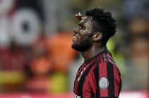 «Монако» хочет приобрести хавбека «Милана» Кессиэ