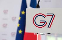 Ֆրանսիայում աշխատանքն է սկսում  G7 գագաթնաժողովը
