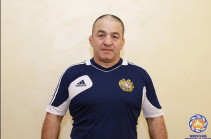 Chief coach of Armenia's Greco-Roman style wrestling team announces resignation