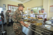 Number of military units with new food organization system reaches 15: Armenia's PM