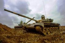 В Армении танкисты ЮВО показали «танковый вальс»