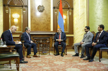 Armenia's PM receives Lydian International acting chairman and CEO Edward Sellers