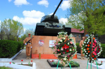 В Армении военнослужащие ЮВО отпраздновали День танкиста