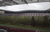 Ավստրիական մարզադաշտում ծառեր են տնկել