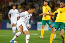 Պորտուգալիայի հավաքականը  ջախջախել է Լիտվային