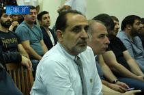 Полиция подвергла приводу Арама Арутюняна после судебного заседания по делу Роберта Кочаряна и других