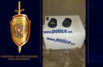 Նոր Նորքի ոստիկանները հայտնաբերել են արագաչափը գողացած անձին ու գողոնը (տեսանյութ)