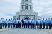 Շուշիի Սուրբ Ղազանչեցոց եկեղեցում մեկնարկել է Ապրիլան պատերազմի զոհերի երեխաների և հարացազատների մկրտությունը