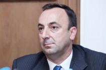Проект решения по вопросу прекращения полномочий Грайра Товмасяна представлен спикеру парламента