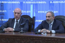 Armenia's PM introduces new acting chief of police