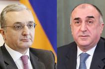 Главы МИД Армении и Азербайджана встретятся в Нью-Йорке 23 сентября