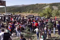Amulsar to stay a mountain: Jermuk, Gndevaz residents take to streets protesting against mine exploitation