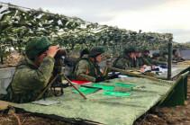 В Армении началось двухстороннее батальонное тактическое учение с военнослужащими российской военной базы ЮВО